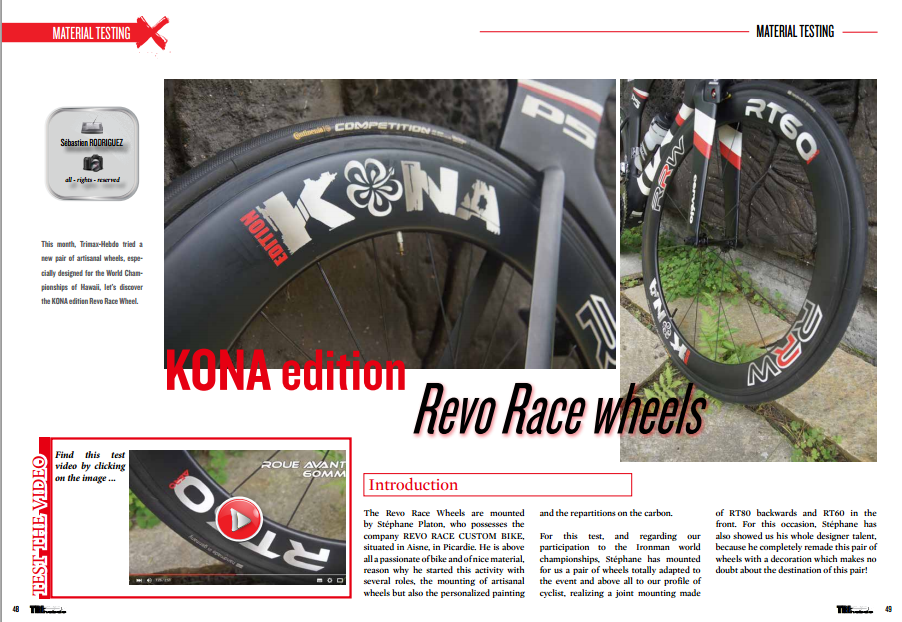 KONA edition Revo Race wheels  … to read in TrimaX#146