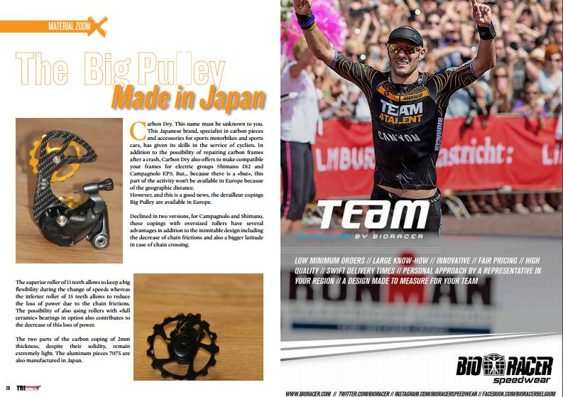 The Big Pulley Made in Japan, to read in TrimaX#149
