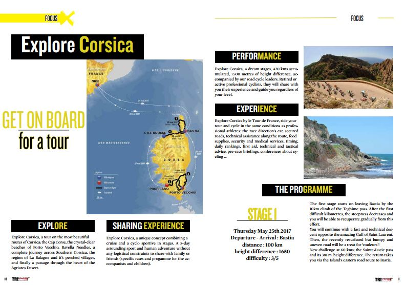 Explore Corsica GET ON BOARD for a tour to read in TrimaX#149