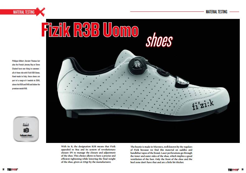 Fizik R3B Uomo shoes to read in TrimaX#149