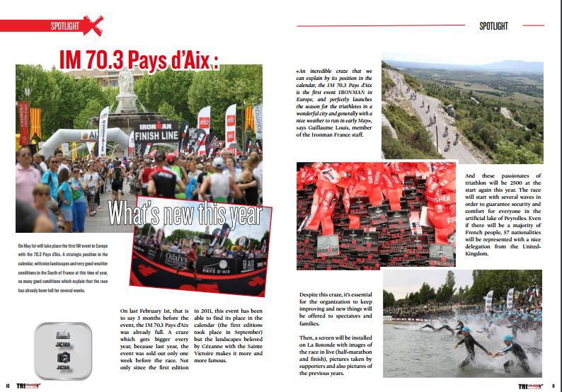 IM 70.3 Pays d'Aix : What's new this year to read in TrimaX#150