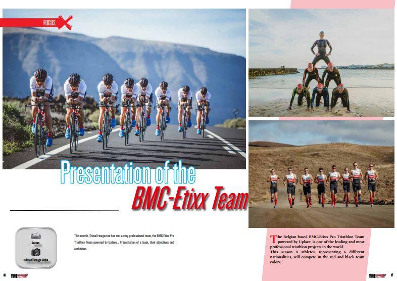 Presentation of the BMC-Etixx Team to read in TrimaX#150