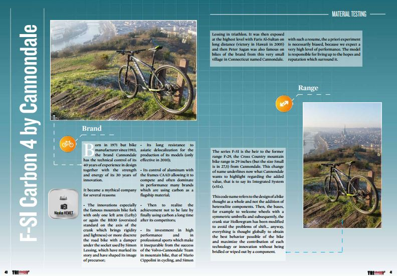 F-SI Carbon 4 by Cannondale to read in TrimaX#150