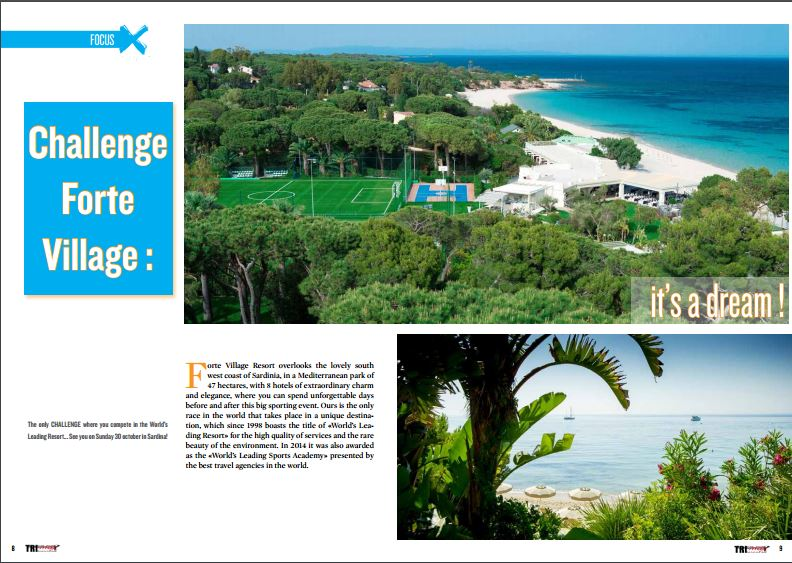 Challenge Forte Village : it's a dream ! to read in TrimaX#151