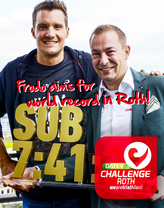 DATEV Challenge Roth: Frodeno aims for world record in Roth!‏