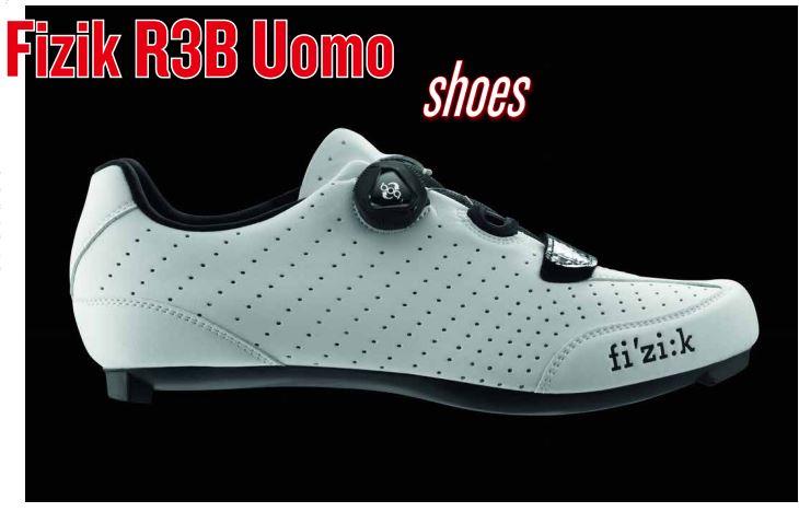 Material testing : Fizik R3B Uomo shoes