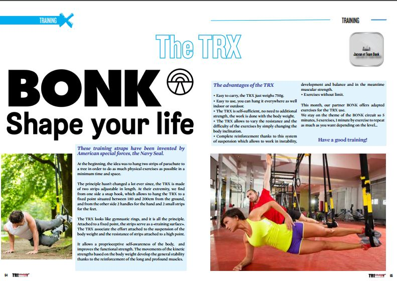 The TRX to read in TrimaX#152