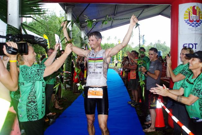 Middaugh, Paterson win XTERRA Tahiti