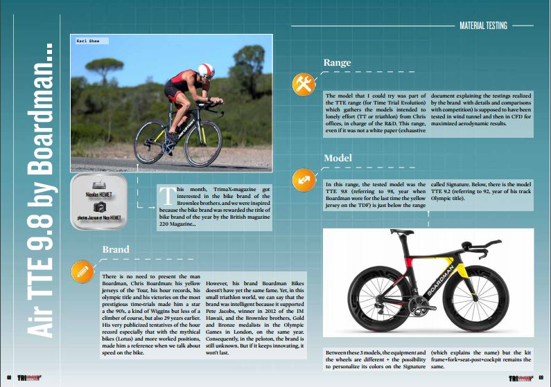 Air TTE 9.8 by Boardman… to read in TrimaX#152