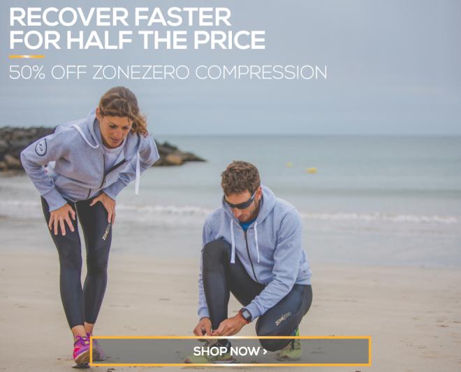 ZONE 3: Half price compression wear