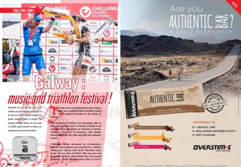 Galway : music and triathlon festival ! to read in TrimaX#154