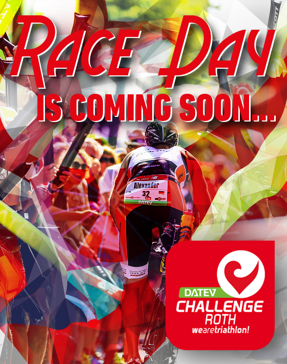 DATEV Challenge Roth: Race Day is coming soon!‏