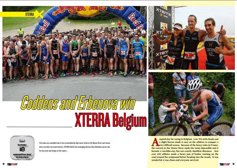 Coddens and Erbenova win XTERRA Belgium to read in TrimaX#154