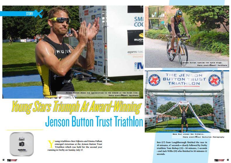 Young Stars Triumph At Award-Winning Jenson Button Trust Triathlon to read in TrimaX#155