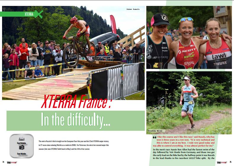 XTERRA France : In the difficulty… to read in TrimaX#155
