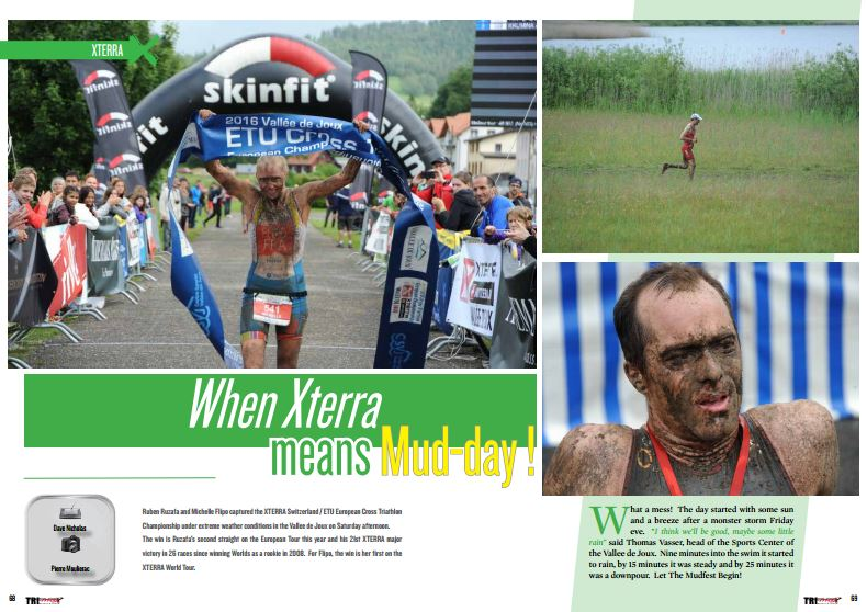 When Xterra means Mud-day ! to read in TrimaX#155