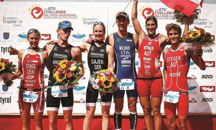 Guilio Molinari wins ETU European Championship Race in Austria