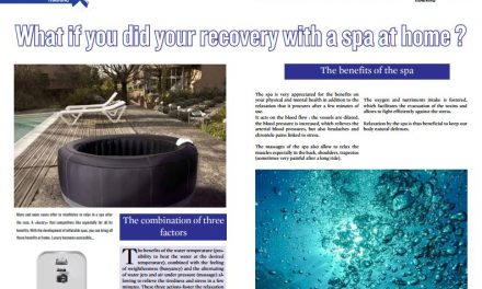 What if you did your recovery with a spa at home ? to read in TrimaX#156