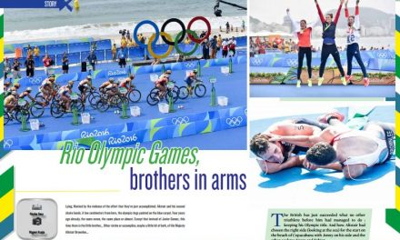 Rio Olympic Games, brothers in arms to read in TrimaX#156