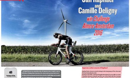 Jan Raphael and Camille Deligny win Challenge Almere-Amsterdam 2016 to read in TrimaX#157