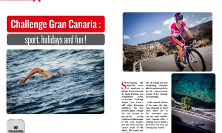Challenge Gran Canaria : sport, holidays and fun ! to read in TrimaX#158
