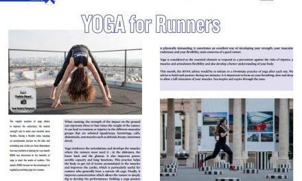 YOGA for Runners to read in TrimaX#158