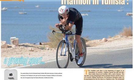 Triathlon in Tunisia : a growing sport… to read in TrimaX#157