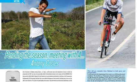 Pending the season, meeting with A… Antony Costes to read in TrimaX#160