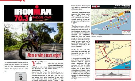 Ironman 70.3 Barcelona Alone or with a team, enjoy ! to read in TrimaX#160