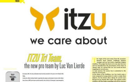 ITZU Tri Team, the new pro team by Luc Van Lierde to read in TrimaX#160