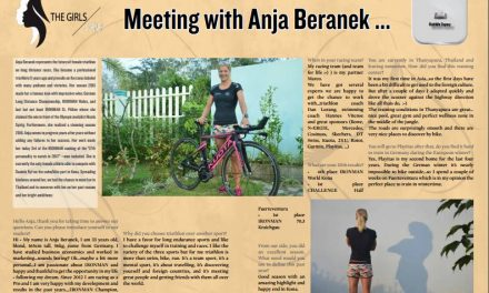 Meeting with Anja Beranek … to read in TrimaX#160