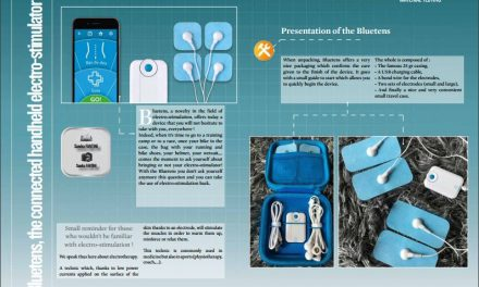 Bluetens, the connected handheld electro-stimulator ! to read in TrimaX#160