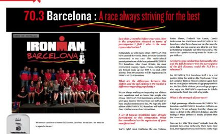 70.3 Barcelona : A race always striving for the best to read in TrimaX#APRIL