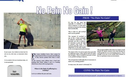 No Pain No Gain ! to read in TrimaX#APRIL