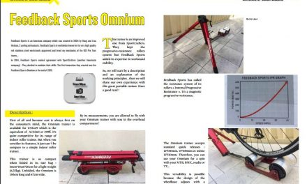 Feedback Sports Omnium to read in TrimaX#APRIL