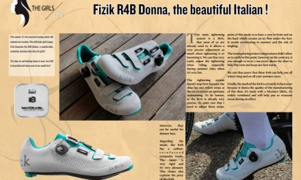 Fizik R4B Donna, the beautiful Italian ! to read in TrimaX#APRIL