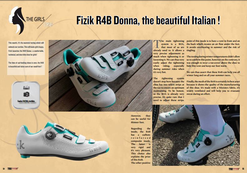 half off a0571 b2418 Fizik R4B Donna, the beautiful Italian ! to read in TrimaX ...