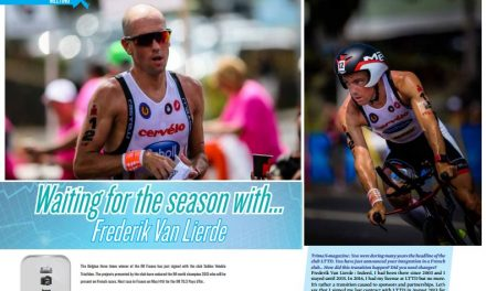 Waiting for the season with… Frederik Van Lierde to read in TrimaX#APRIL