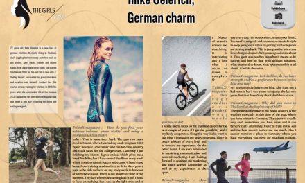 Imke Oelerich, German charm to read in TrimaX#APRIL