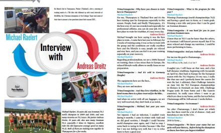 Interview with Michael Raelert and Andreas Dreitz to read in TrimaX#APRIL