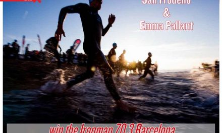 Jan Frodeno & Emma Pallant win the Ironman 70.3 Barcelona to read in TrimaX#164