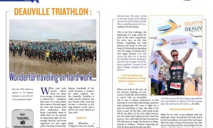 Deauville triathlon : Wonderful traveling on hard work… to read in TrimaX#164