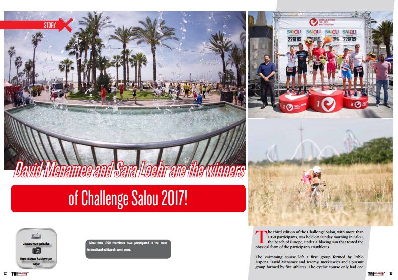 David Mcnamee and Sara Loehr are the winners of Challenge Salou 2017! to read in TrimaX#166