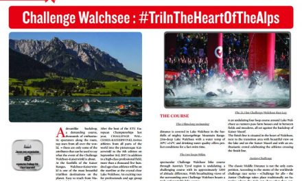 Challenge Walchsee : #TriInTheHeartOfTheAlps to read in TrimaX#166