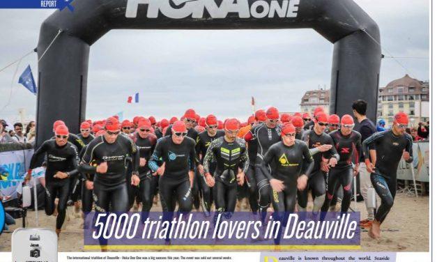 5000 triathlon lovers in Deauville to read in TrimaX#166