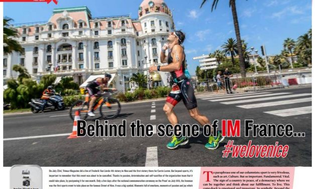Behind the scene of IM France… #welovenice to read in TrimaX#166