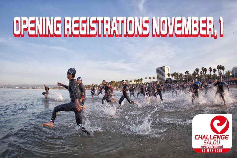 Challenge Salou 2018 registration opens on November 1