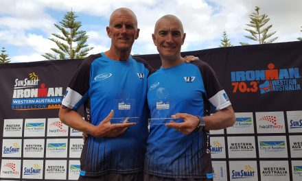 NEWCASTLE'S DYNAMIC DUO FIRED UP FOR  IRONMAN 70.3 ASIA PACIFIC CHAMPIONSHIP WESTERN SYDNEY
