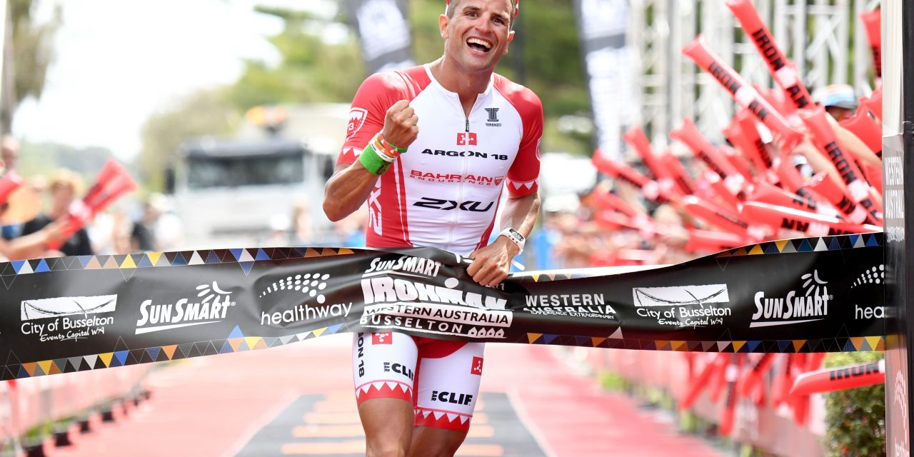 BOZZONE AND HAUSCHILDT DEFEND AT SUNSMART IRONMAN WESTERN AUSTRALIA