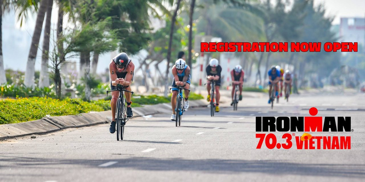 Number 1 IRONMAN 70.3 Vietnam